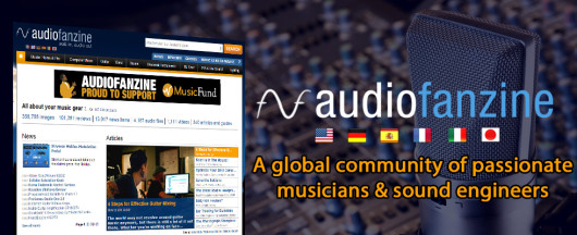 Audiofanzine International Bordas Media