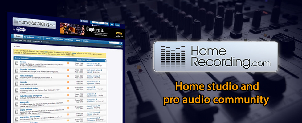 HomeRecording.com